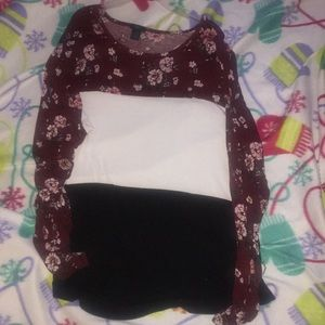 Silky with little stretch LS top